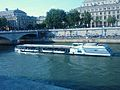Boat in Seine River.JPG