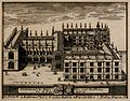 Bodleian Library, Oxford; bird's eye view with key and coat Wellcome V0014205.jpg