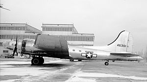 Boeing C-108 Flying Fortress - CB-17G at Patterson Field, Ohio on January 1, 1946.