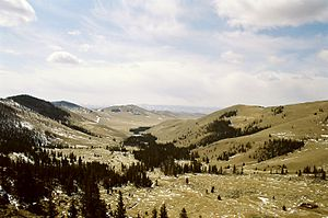 Bogd Khan Mountain - Hills near Manjusri Monastery.