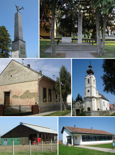 Bolman Village in Osijek-Baranja, Croatia