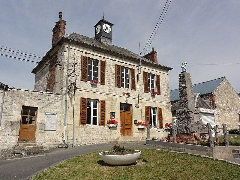 Boncourt (Aisne) mairie