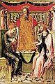 Bonifacio Bembo, Incoronazione di Cristo e della Vergine, c. 1455-1460 Museo Civico Ala Ponzone, Cremona.jpg