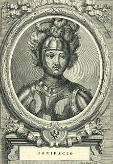 Boniface, Count of Savoy Italian noble