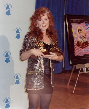 Bonnie Raitt at 1990 Grammy awards
