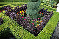 Border hedge and flowers Capel Manor College Gardens Enfield London England 1.jpg