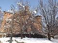 Borgo Medievale innevato a Torino.JPG
