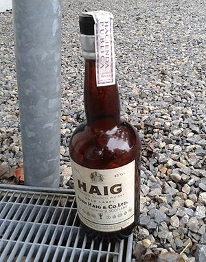 Haig (whisky) - Image: Bottle Haig Whiskey