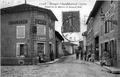 Bougé chambalud, place de la mairie et Grande Rue, 1919, p 28 l'Isère les 533 communes - .tif