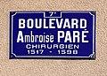 Boulevard Ambroise Paré (Lyon) - panneau.jpg