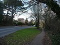 Bournemouth , Wimborne Road and Path - geograph.org.uk - 1704159.jpg