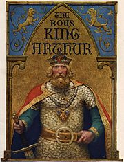 King Arthur - title page