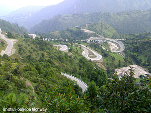 B.P. Koirala Highway - Image: Bp highway, sindhuli