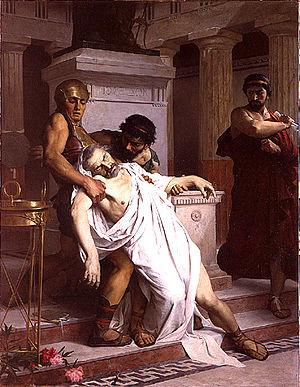 Alfred-Henri Bramtot - Image: Bramtot La mort de Démosthène