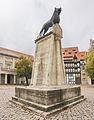 Braunschweiger Löwe am Burgplatz in Braunschweig IMG 2747.jpg