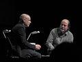 Brian Eno, Danny Hillis by Pete Forsyth 36.jpg