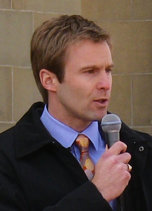 New Brunswick general election, 2014 - Image: Brian Gallant, New Brunswick, Canada's Liberal leader