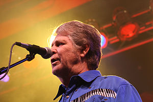 Brian Wilson during a performance at the Consu...