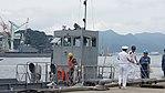 Bridge of JMSDF YF-2138 at Maizuru Naval Base July 29, 2017.jpg