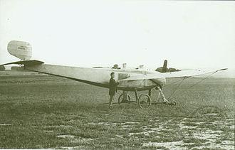 Henri Coandă - 1912 Bristol-Coanda monoplane