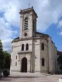 Brives-Charensac (Haute-Loire, Fr), l'église.JPG