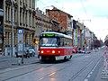 Brno, Královo pole, tramvaj T3M.JPG
