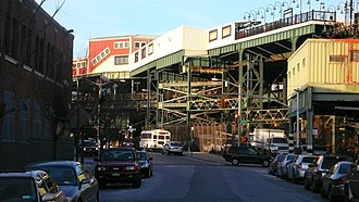 Broadway Junction (New York City Subway) - The elevated part of the complex