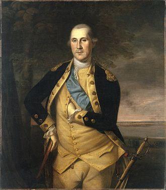 Legacy of George Washington - George Washington by Charles Willson Peale, c. 1776