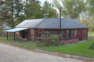 National Register of Historic Places listings in Fayette County, Pennsylvania - Image: Brown Moore Blacksmith Shop