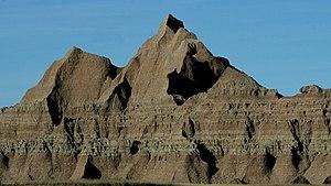 Brule Formation - Brule Formation in  Badlands National Park