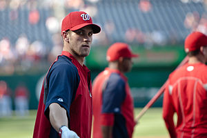 Bryce Harper - Harper at Nationals Park in May 2012