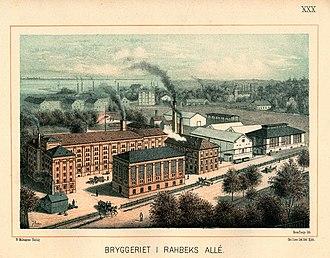 Rahbeks Allé - Tahbæks Allé Brewery