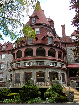 The Baldwin School - Image: Bryn Mawr Hotel
