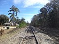 Buck Creek Church Rd RR looking EB, Colquitt County.JPG
