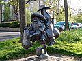 Bud Neill Statue. Glasgow. Scotland ..jpg