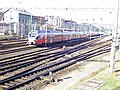 Budapest Southern Railway Station. A suburban train departing..JPG