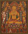 Buddha Ratnasambhava with Wealth Deities - Google Art Project.jpg