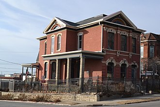 National Register of Historic Places listings in Buchanan County, Missouri - Image: Buddy House, St. Joseph, MO