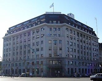 Ferrocarriles Argentinos - Former FA headquarters in Retiro, now headquarters of ADIFSE.