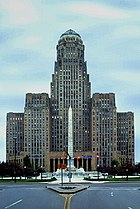 City Hall of Buffalo, New York, an Art Deco building