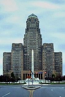 Ayuntamiento de Buffalo en Nueva York, pieza maestra del Art Decó americano