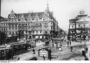 Paul Davidson (producer) - Grand Hotel Alexanderplatz, the location of Davidson's first Union Theater in Berlin
