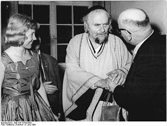 Eduard von Winterstein - Eduard von Winterstein (Center) as Nathan The Wise, 1960