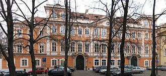 Embassy of France, Prague - Buquoy Palace in Prague