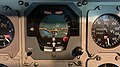 Buran spacecraft artificial horizons Central House of Aviation and Cosmonautics.jpg