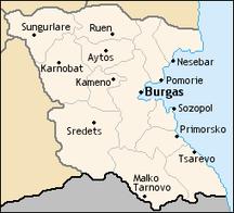 Regione di Burgas