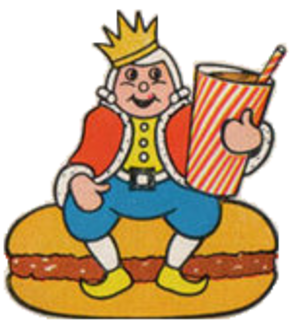 Burger King advertising - The original version of the King from the 1950s and early 1960s.