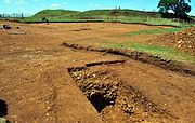 Burrough Hill Excavations June 2011