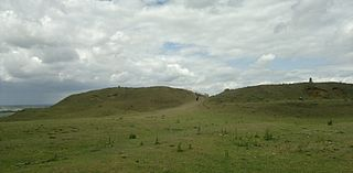 Iron Age hill fort in Leicestershire, UK