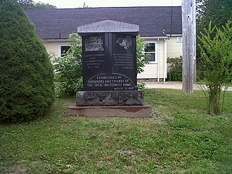 Butterbox Babies -  Monument to the Butterbox Babies, East Chester, Nova Scotia
